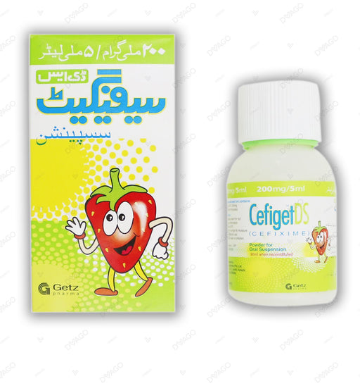 Cefiget Suspension Ds 200mg 30ml
