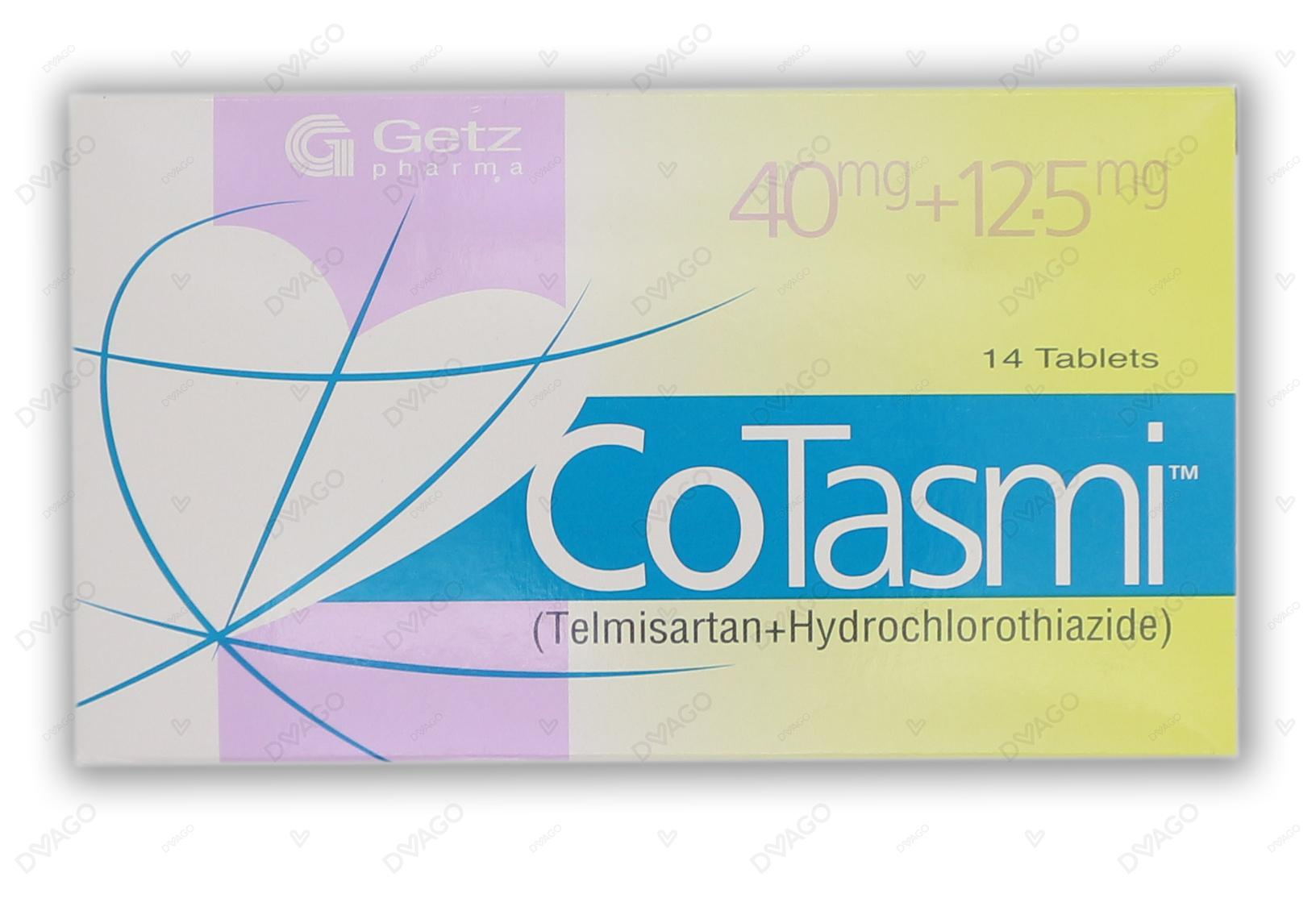Co-Tasmi Tablets 40/12.5mg 14's
