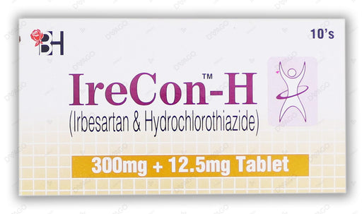 Irecon-H Tablets 300/12.5mg 10's