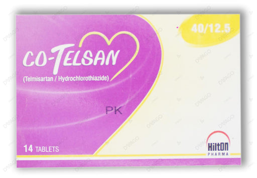 Co-Telsan Tablets 40/12.5mg 14's