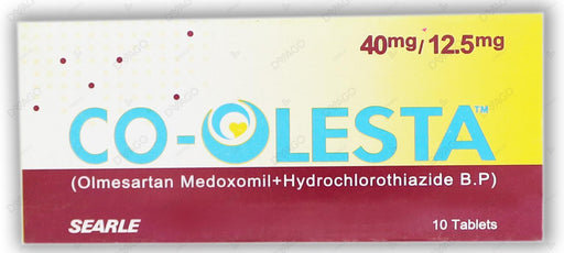 Co-Olesta Tablets 40/12.5mg 10's