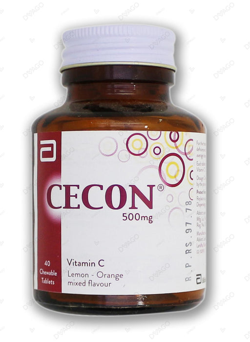 Cecon Tablets Chewable 500mg 40's