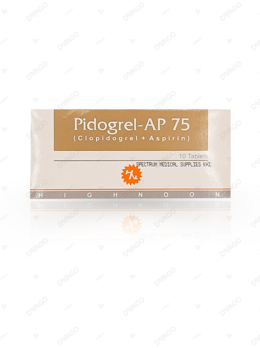Pidogrel -Ap Tablets 75/75mg 10's