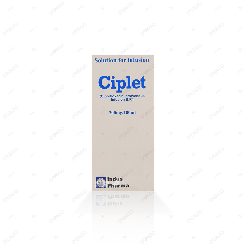 Ciplet Inj 200 MG 1 Vialx100 ml