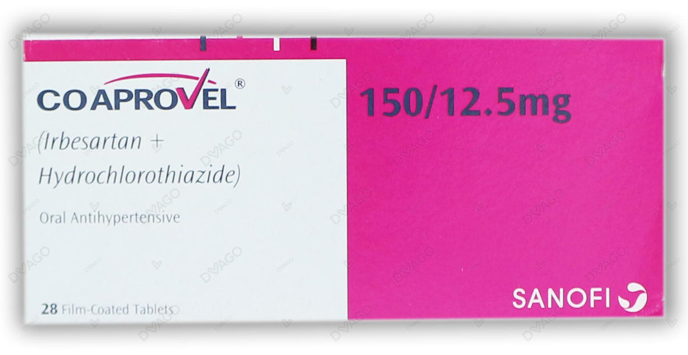 Co-Aprovel Tablets 150/12.5mg 28's