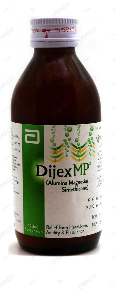 Dijex Mp Suspension Mixed Fruit 228ml