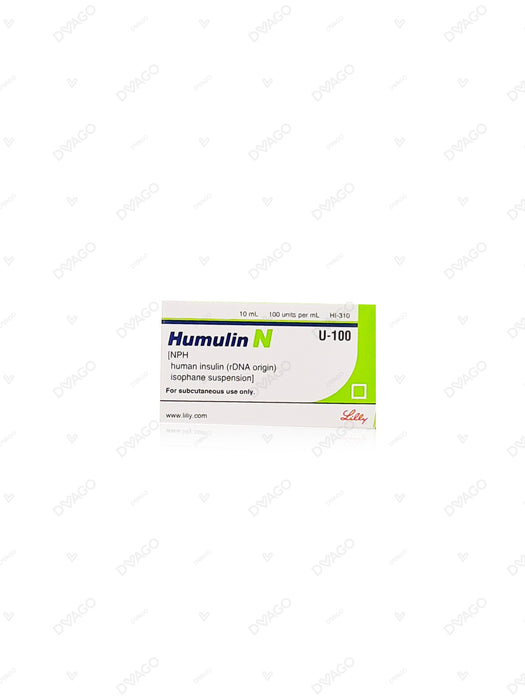Humulin-N Injection 100 Iu 1 Vialx10ml