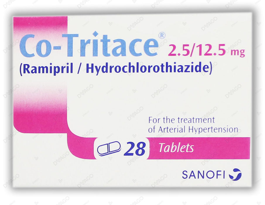 Co-Tritace Tablets 2.5/12.5mg 2X14's