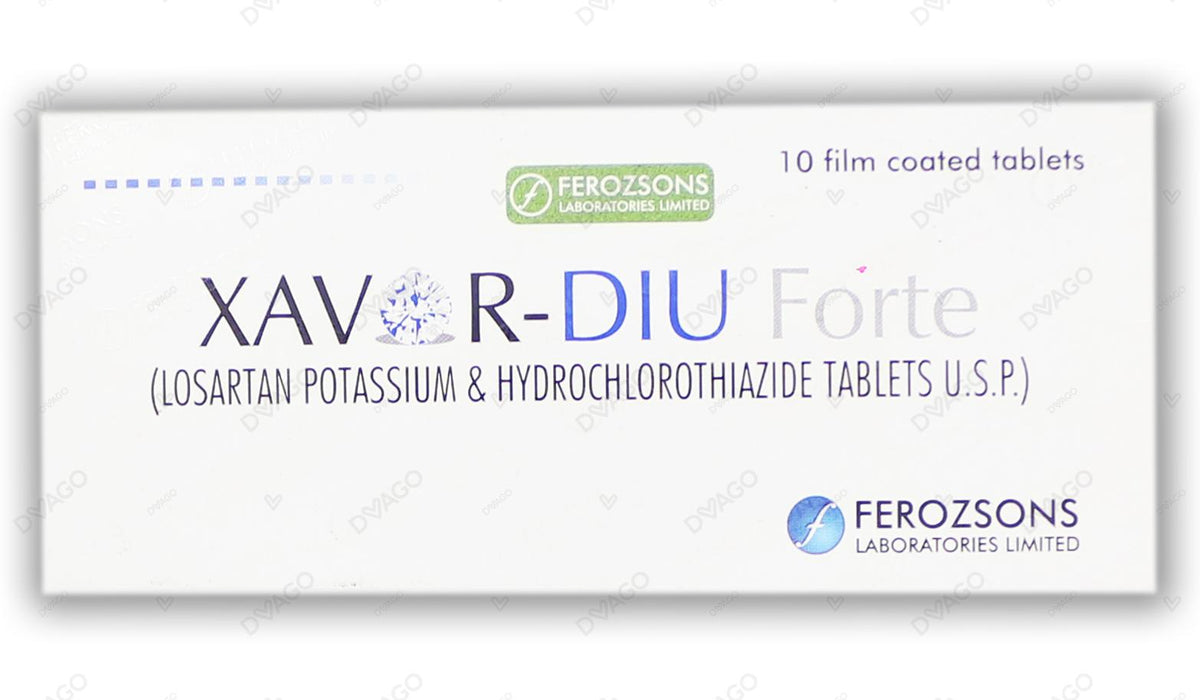 Xavor Diu Tablets Forte 100/25mg 10's