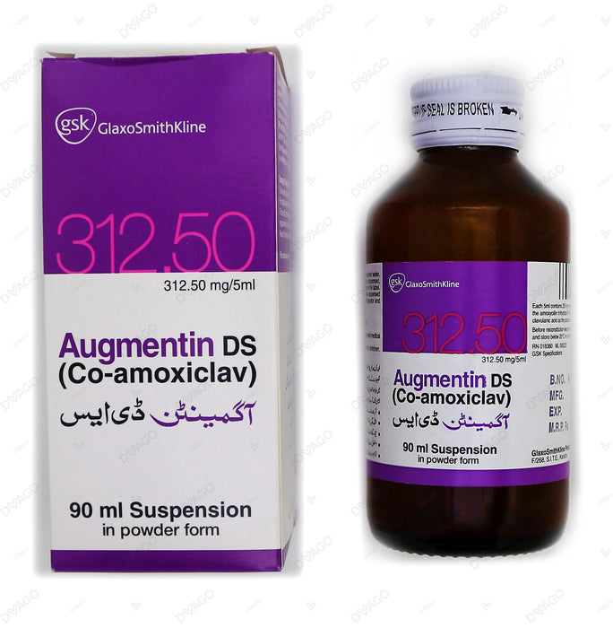 Augmentin Ds 312mg Syrup 90ml
