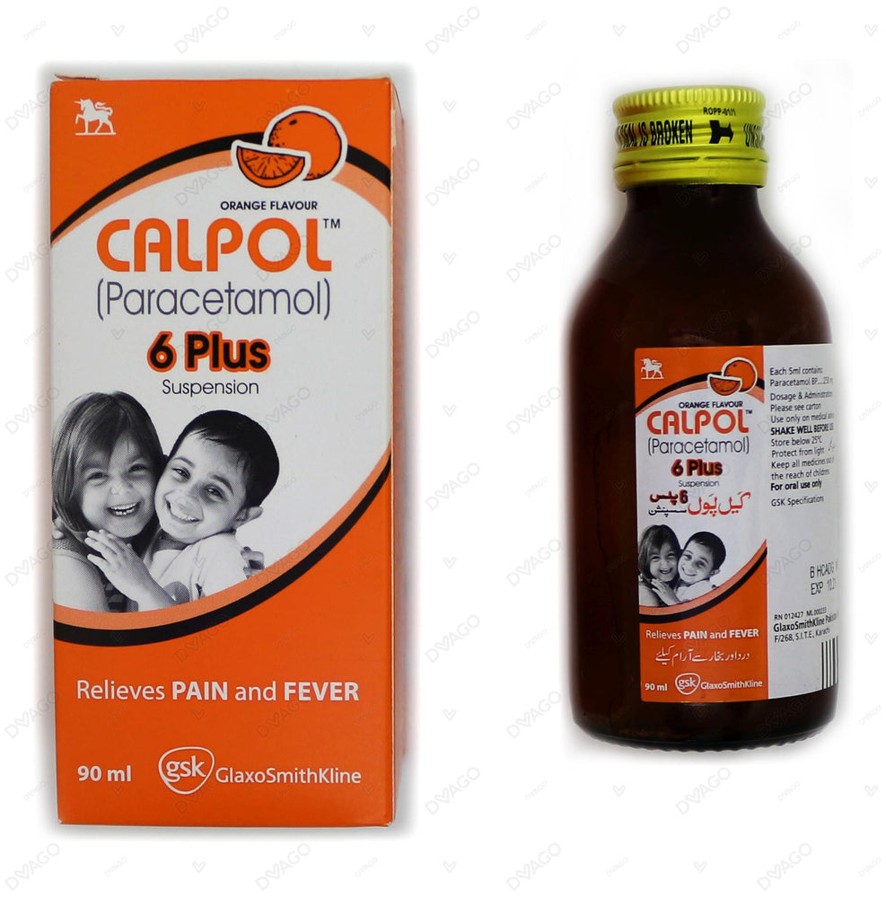 Calpol 6 Plus Suspension 90ml