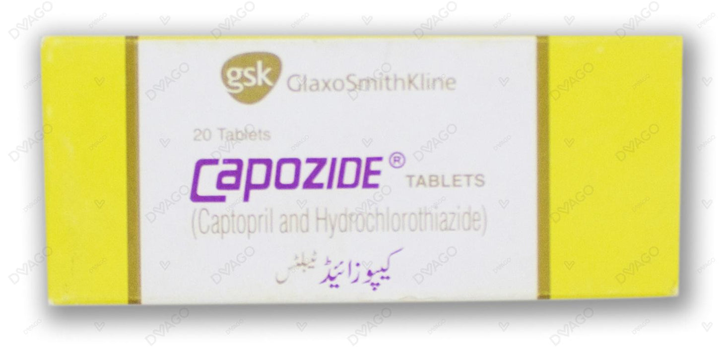 Capozide Tablets 20's