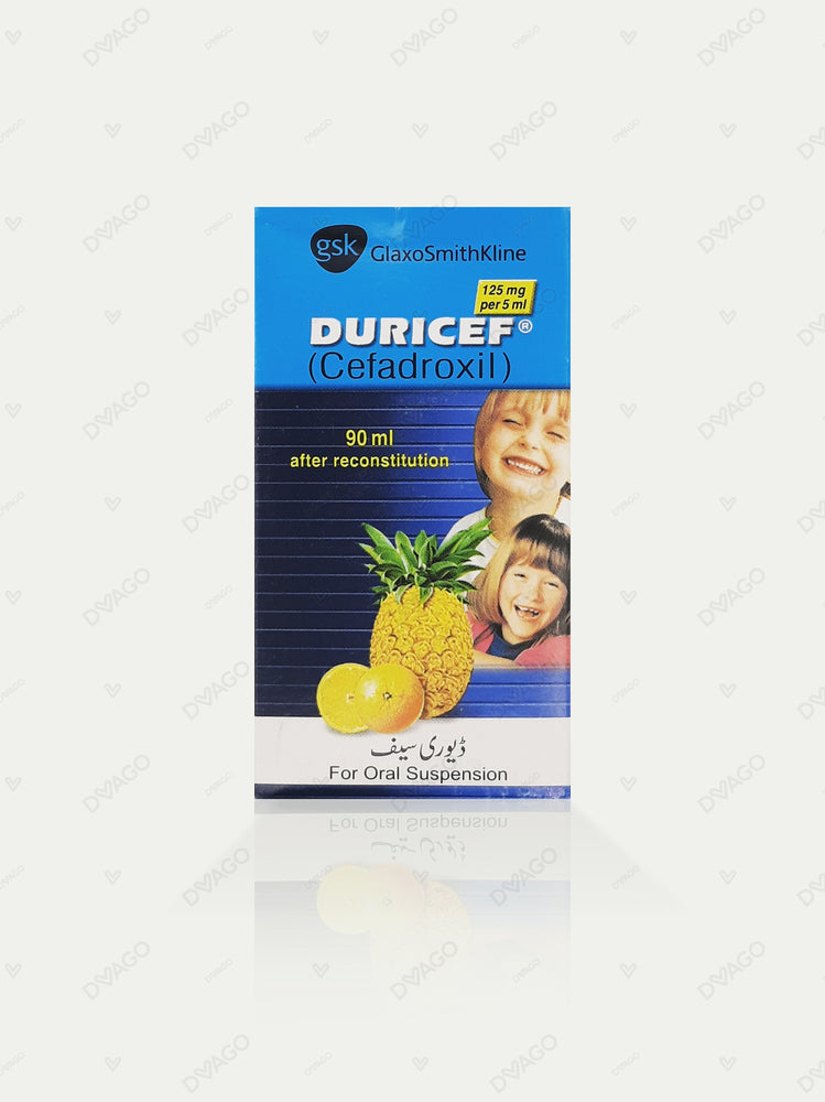 Duricef Susp 125 MG 90ML