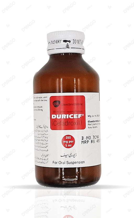 Duricef Suspension 250mg 60ml