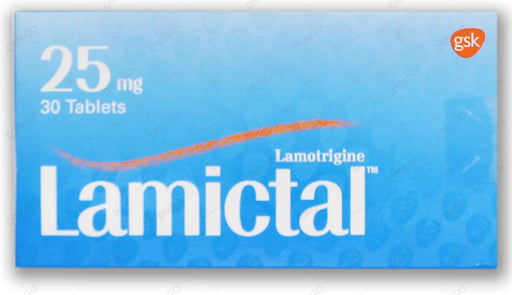 Lamictal Tablets 25mg 30's