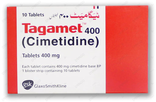 Tagamet Tablets 400mg 10's