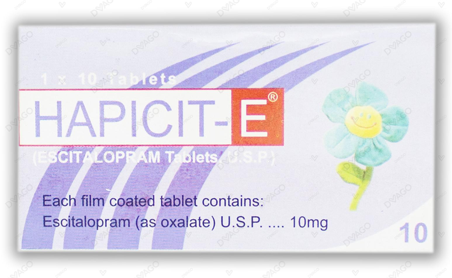 Hapicit-E Tablets 10mg 10's