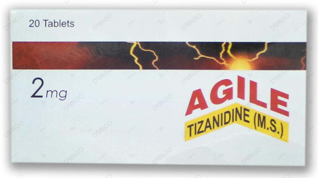 Agile Tablets 2mg 2X10's