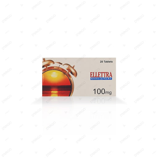 Ellettra 100mg Tablets 20's