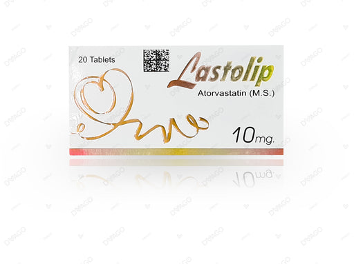 Lastolip Tablets 10mg 20's