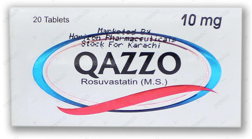 Qazzo Tablets 10mg 20's
