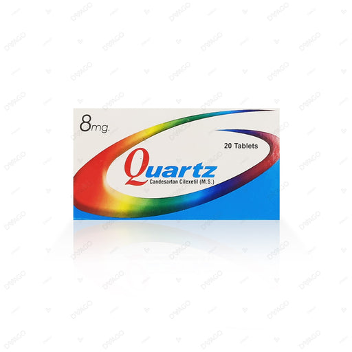 Quartz 8mg Tablets 20's