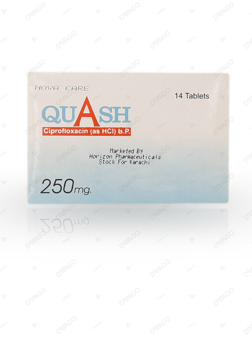 Quash Tablets 250mg 14's