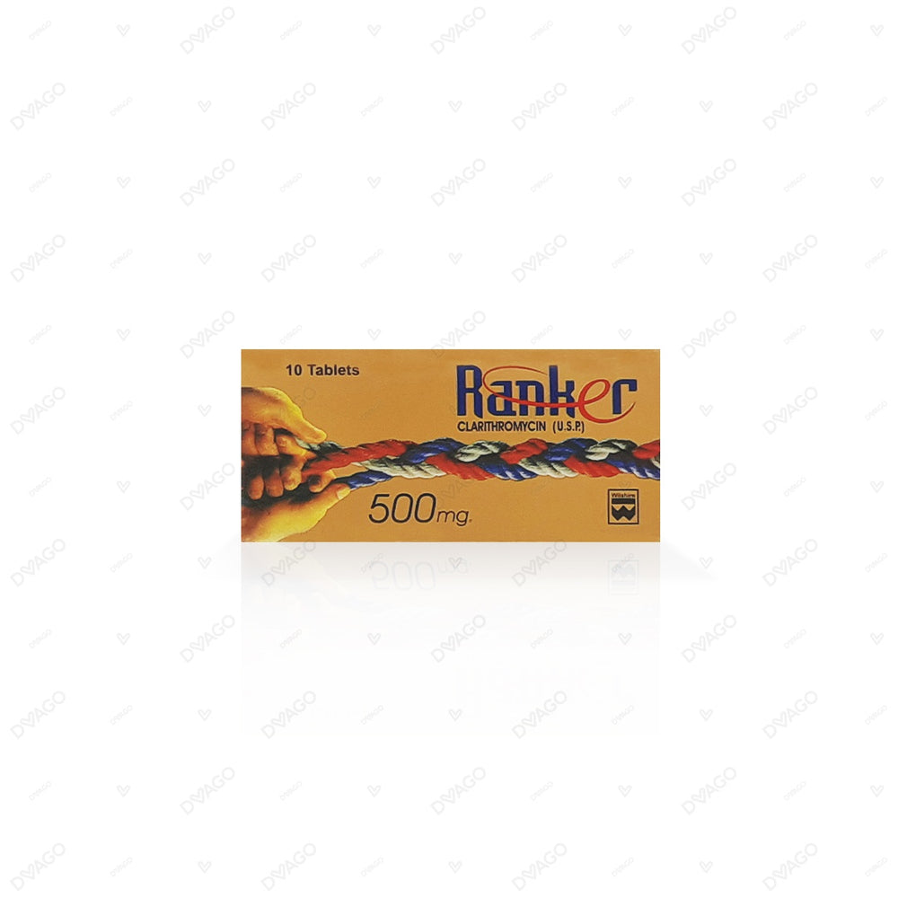 Ranker Tablets 500mg 2X5's