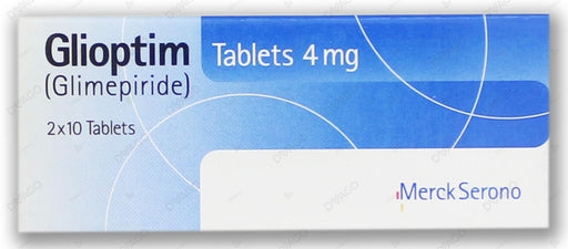 Glioptim Tablets 4mg 2X10's