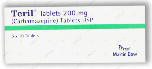 Teril Tablets 200mg 5X10's