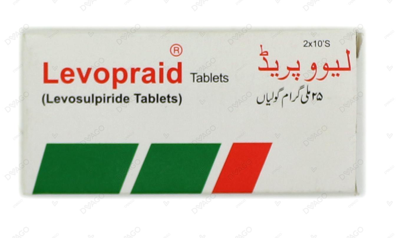 Levopraid Tablets 25mg 2X10's
