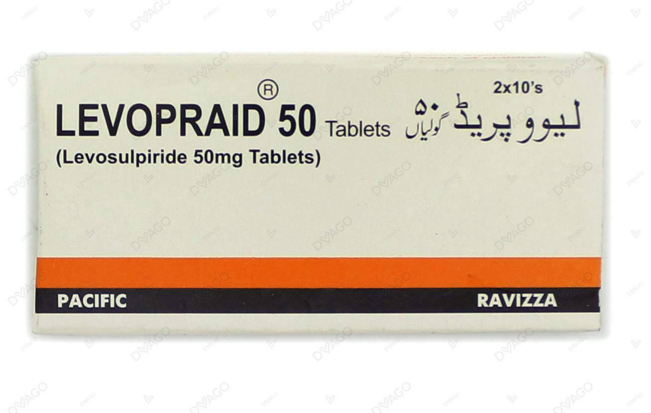Levopraid Tablets 50mg 2X10's