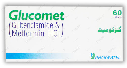 Glucomate Tablets 500mg 5X10's