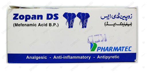 Zopan Ds 500mg Tablets 200's