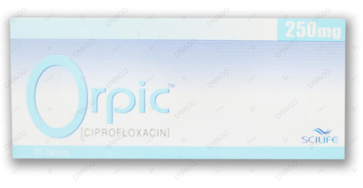 Orpic Tablets 250mg 10's