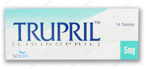Trupril Tablets 5mg 14's