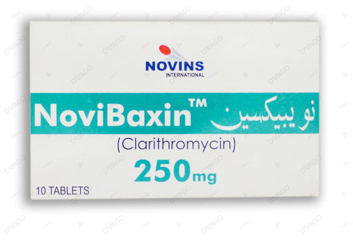 Novibaxin Tablets 250mg 10's