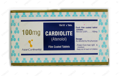 Cardiolite Tablets 100mg 100's
