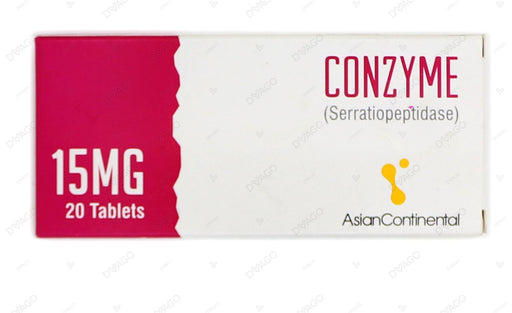Conzyme 15mg Tablets 20's