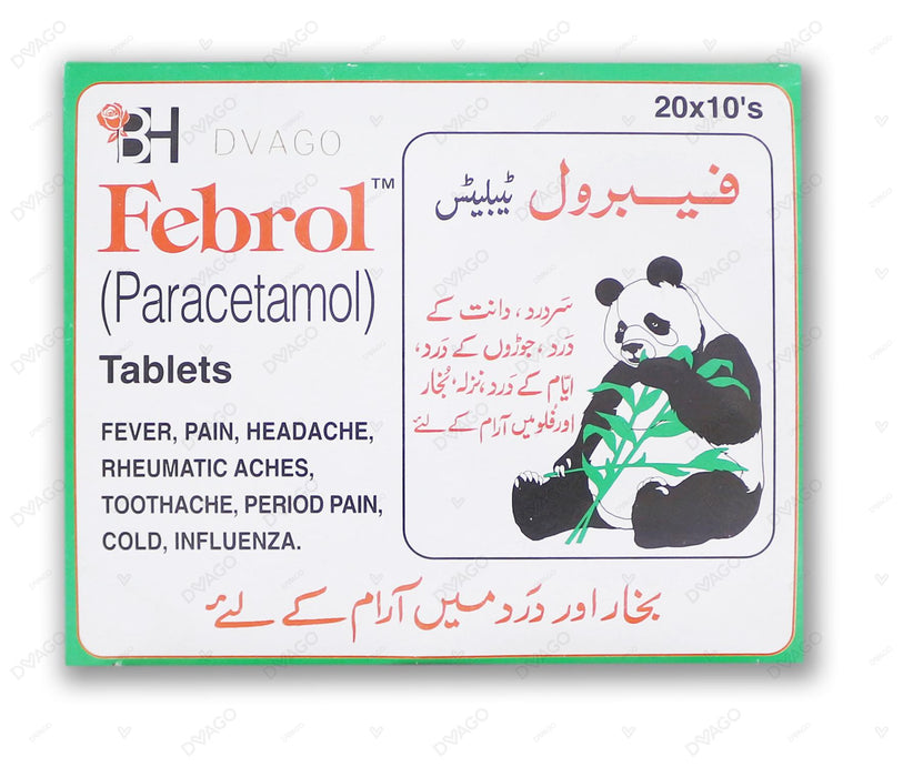 Febrol Tablet