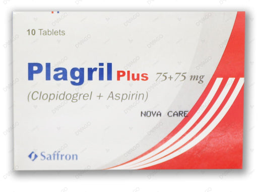 Plagril Plus 75mg Tablets 10's