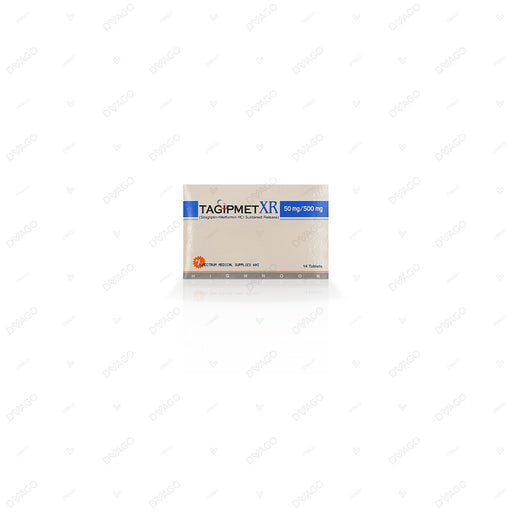 Tagipmet Xr 50/500mg Tablets