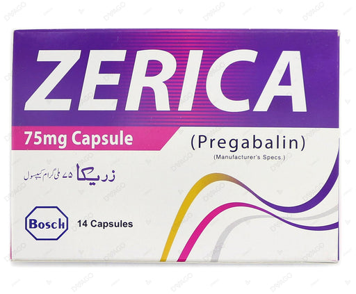 Zerica Caps. 75mg