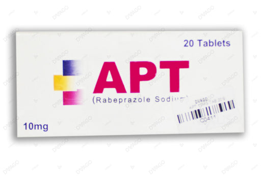 Apt 10mg Tablets 20's