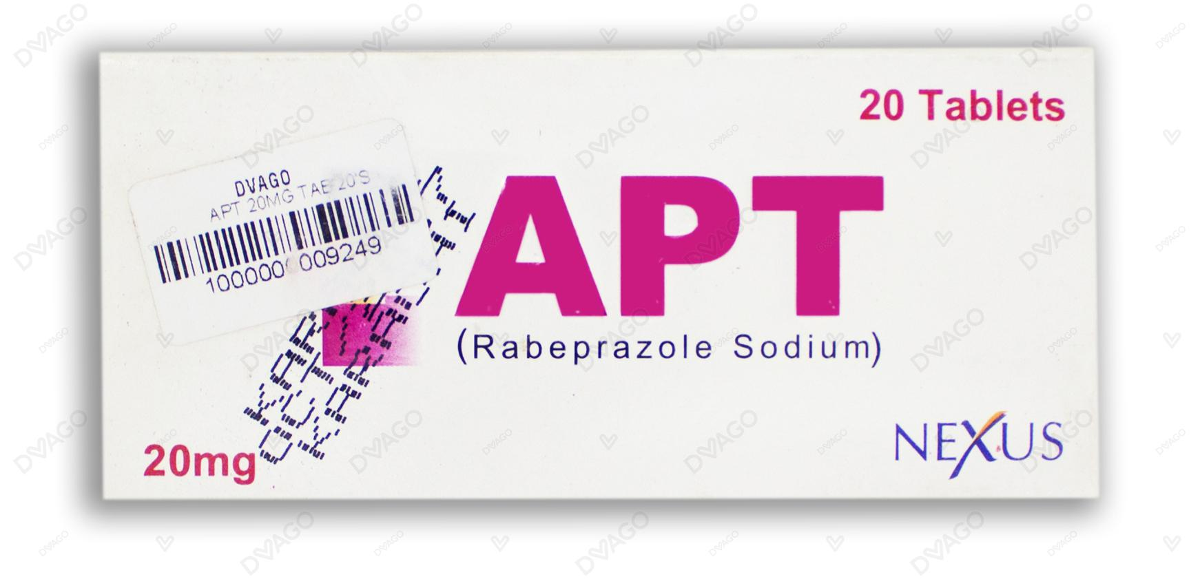 Apt 20mg Tablets 20's