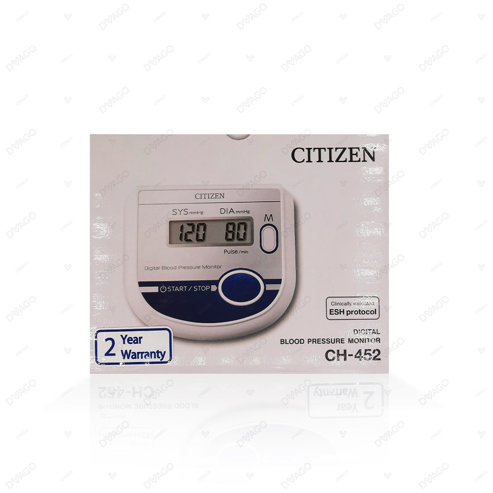 Citizen Digital Upper Arm Blood Pressure Monitor CH452