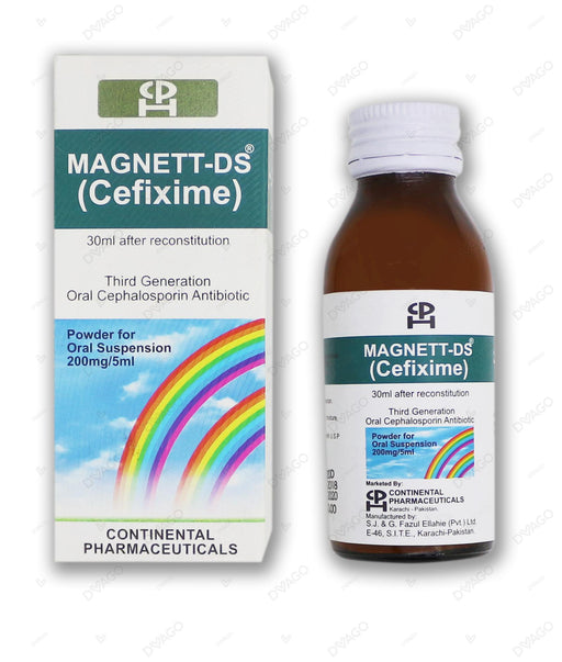 Magnett Ds Sus. 200mg