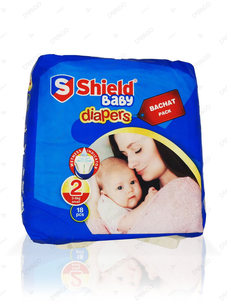Shield Diapers Bachat Pack Small 18 Count