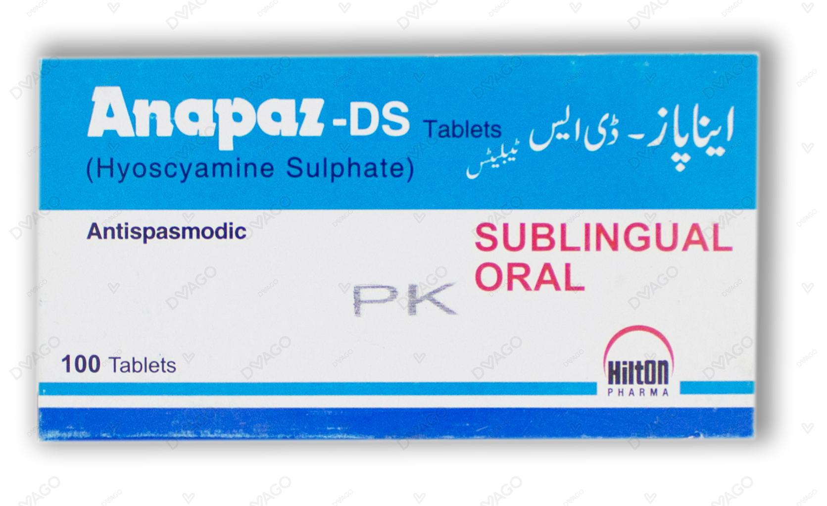 Anapaz Tablets