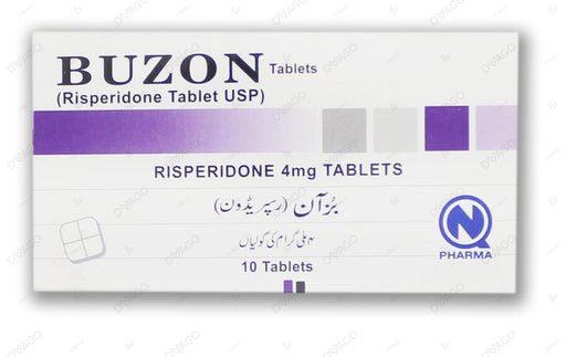 Buzon 4mg Tablet